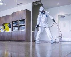 2020 DISINFECTANT-SPRAYING
